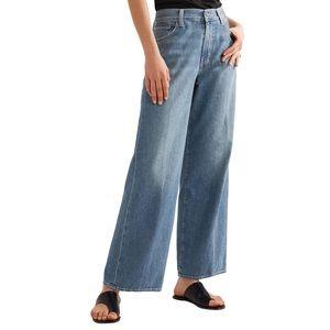 VINCE. > High Rise Wide Leg Jeans